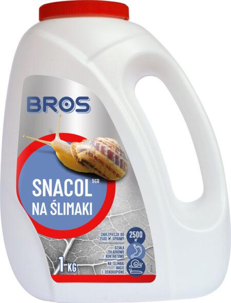BROS SNACOL środek trutka na ślimaki 1KG