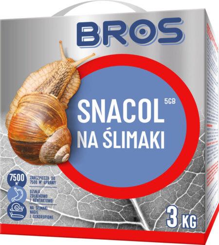 BROS SNACOL 3kg – granulat,  trutka na ślimaki