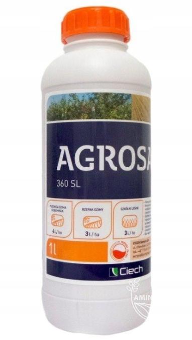 Agrosar 360 SL 1 L,  jak Randap – na chwasty, na perz