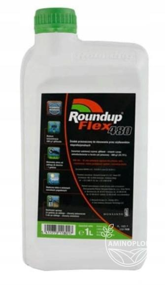 Roundup Flex 480 1L –  Randap Super Moc na perz, na chwasty