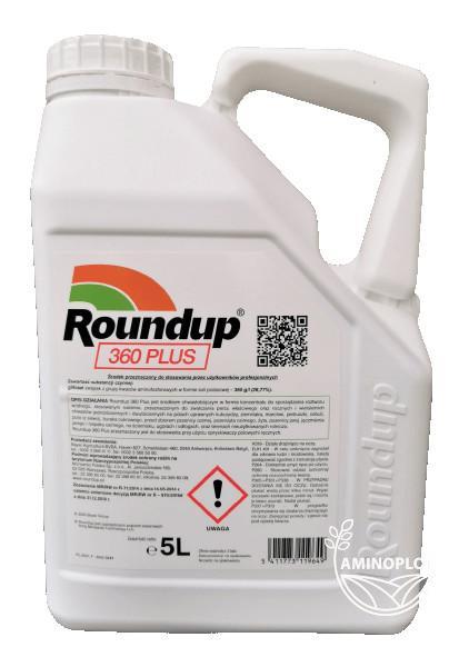 Roundup PLUS 5L –  NA CHWASTY, NA PERZ – HERBICYD, RANDAP