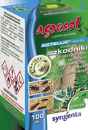 Actellic 500 EC 100 ml – zwalcza wołka zbożowego i inne szkodniki w nasionach siewnych