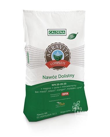 AGRAVITA COMPLETE 10 kg – Nawóz dolistny – Mikro i Marko Elementy