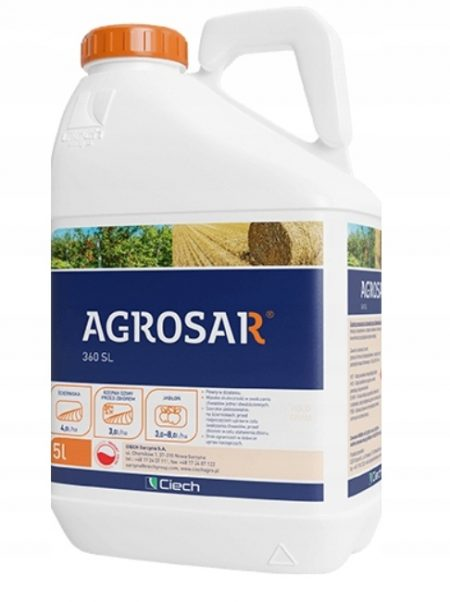 Agrosar 360 SL 5 L – jak Randap na chwasty, na perz