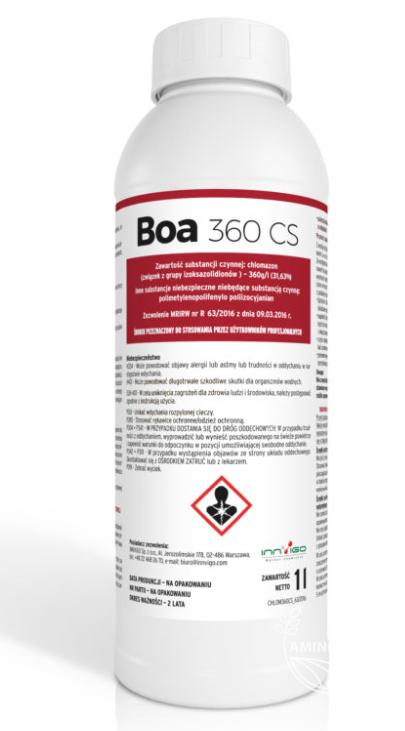 Boa 360 CS – 1 L – Na chwasty jednoliścienne, dwuliścienne