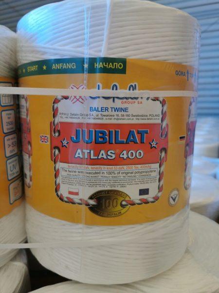 JUBILAT ATLAS 400 sznurek rolniczy do pras