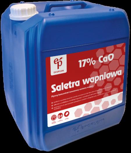 Saletra Wapniowa 17% CaO 20L – znakomite odżywienie wapniem