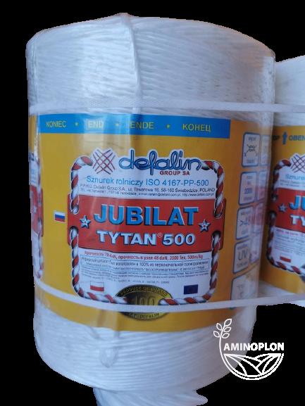 JUBILAT TYTAN 500 sznurek rolniczy do pras