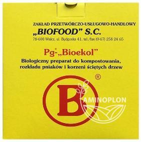 Pg-Bioekol –  Do rozkładania pni, słomy, kompostowanie odpadów organicznych