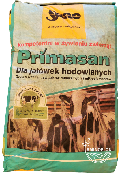 Primasan 25kg – materiał paszowy