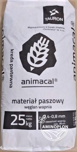 Kreda pastewna Animacal 0.4-0.8mm 25kg – materiał paszowy