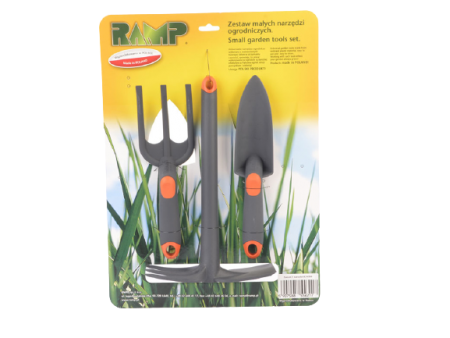 Zestaw 3 małych narzędzi ogrodowych RAMP