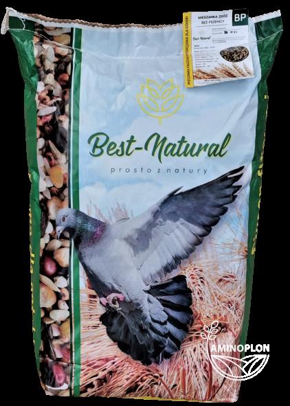 Mieszanka zbóż dla Gołębi bez pszenicy BP 20kg – materiał paszowy