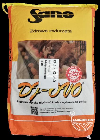 DJ OVO Granulat 25kg – materiał paszowy