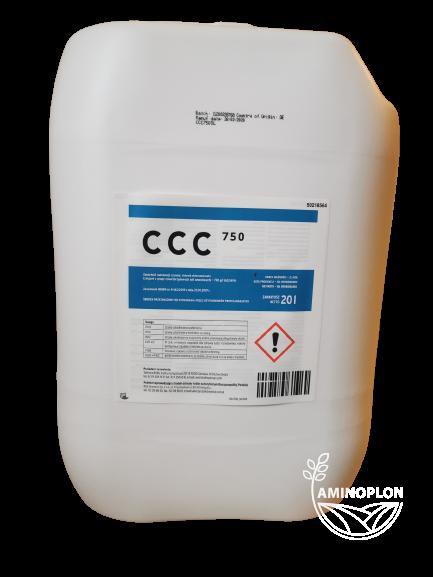 CCC 750 Taminco BVBA 20L – Regulator wzrostu i rozwoju roślin, pszenica, rzepak, owies, żyto