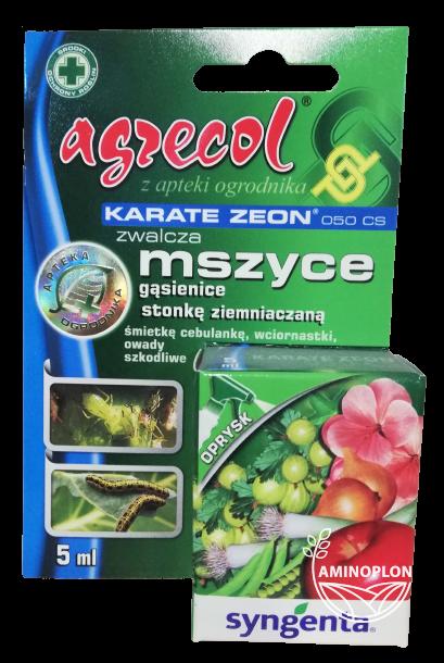 Karate Zeon 050 CS 5ml – zwalcza mszyce, gąsienice, stonkę ziemniaczaną i inne szkodniki