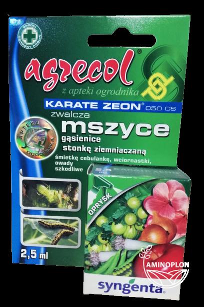 Karate Zeon 050 CS 2,5ml – zwalcza mszyce, gąsienice, stonkę ziemniaczaną i inne szkodniki