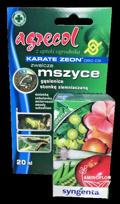 Karate Zeon 050 CS 20ml – zwalcza mszyce, gąsienice, stonkę ziemniaczaną i inne szkodniki
