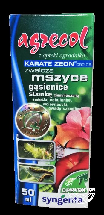 Karate Zeon 050 CS 50ml – zwalcza mszyce, gąsienice, stonkę ziemniaczaną i inne szkodniki