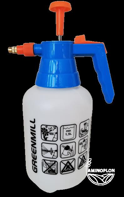 Opryskiwacz kompresyjny Robi 1.5L – z mosiężną dyszą, wielofunkcyjny
