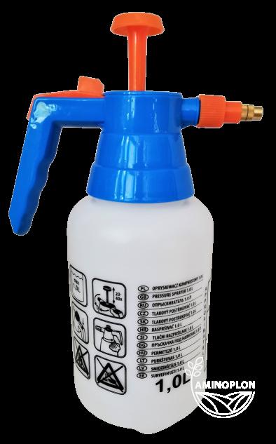 Opryskiwacz kompresyjny Robi 1L – z mosiężną dyszą, wielofunkcyjny