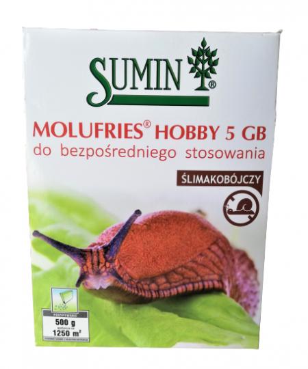 MOLUFRIES 5GB 500g – środek, trutka, granulat na ślimaki