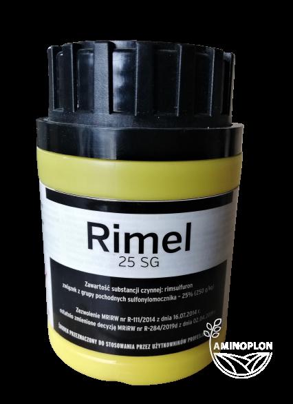 Rimel 25 SG 60g – na chwasty jedno i dwuliścienne w uprawie ziemniaka i kukurydzy