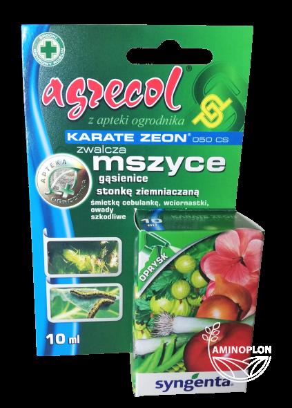 Karate Zeon 050 CS 10ml – zwalcza mszyce, gąsienice, stonkę ziemniaczaną i inne szkodniki
