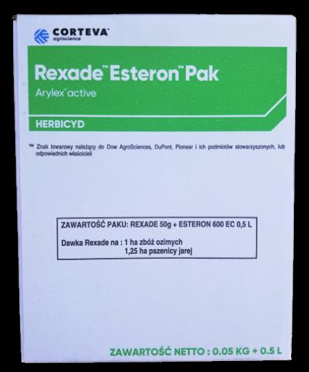 Rexade Arylex Active 50g + Esteron 600 EC 0.5L Pak – szeroka gama zwalczania chwastów w zbożach