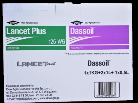 Lancet Plus 125 WG 1kg + 2.5l Dassoil adiuwant – na miotłę zbożową i chwasty dwuliścienne