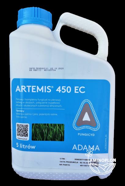 Artemis 450 EC Adama 5L – gotowy i kompletny fungicyd na pierwszy zabieg w zbożach