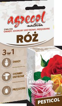 Pesticol Agrecol 30ml – zwalcza choroby grzybowe, owady, przędziorki