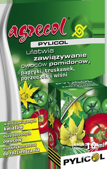 Pylicol Agrecol 10ml – dolistne dokarmianie roślin w okresie kwitnienia, dorodne owoce