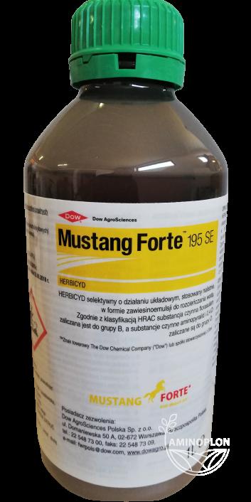 Mustang Forte 195 SE  1L – wiosenne, powschodowe zwalczanie chwastów dwuliściennych