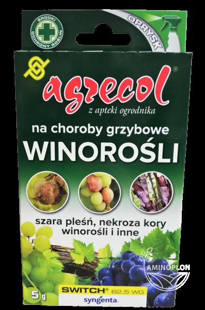 Switch 62,5 WG 5g – zwalcza choroby grzybowe roślin warzywnych, sadowniczych i ozdobnych