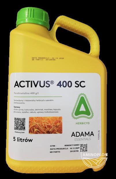 Activus 400 SC 5L – zwalczanie chwastów jedno i dwuliściennych w okresie kiełkowania oraz wschodów
