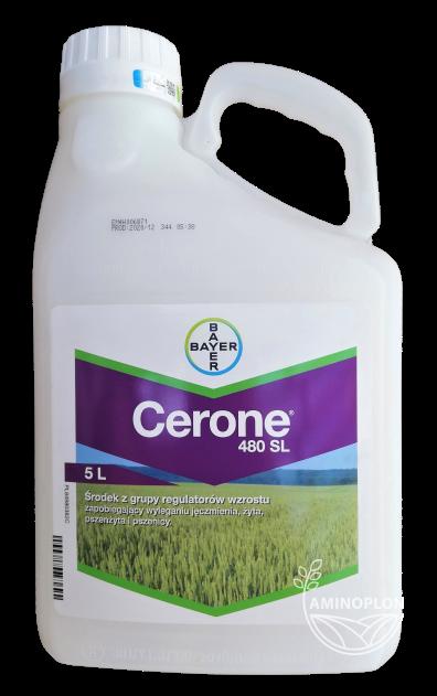 Cerone 480 SL Bayer 5L – skrócenie i usztywnienie źdźbeł zbóż, zapobiega wyleganiu łanu