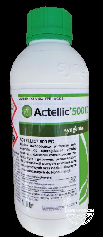 Actellic 500 EC 1L – zwalcza wołka zbożowego i inne szkodniki w nasionach siewnych