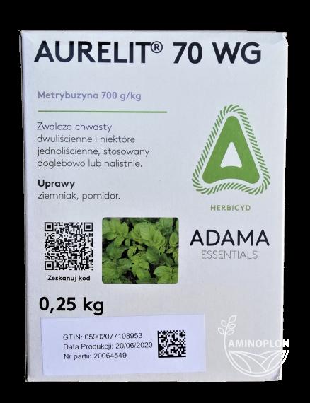 Aurelit 70 WG 0.25kg – na chwasty w uprawie ziemniaka i pomidora