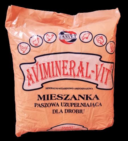 Avimineral-Vit 2kg – materiał paszowy