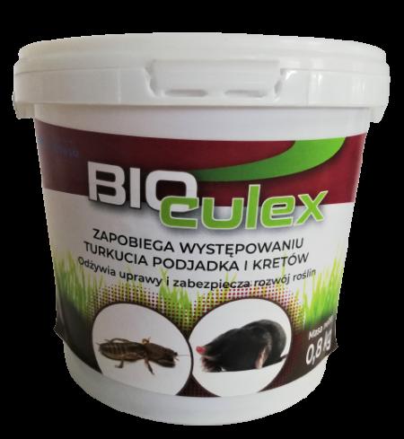 Bio Culex 0,8kg – zapobiega występowaniu turkucia podjadka i kretów, odżywia uprawy