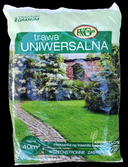 Trawa Uniwersalna Granum 1kg – mieszanka traw, szybkie wschody, dobre zadarnianie