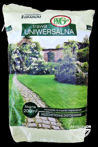 Trawa Uniwersalna Granum 5kg – mieszanka traw, szybkie wschody, dobre zadarnianie