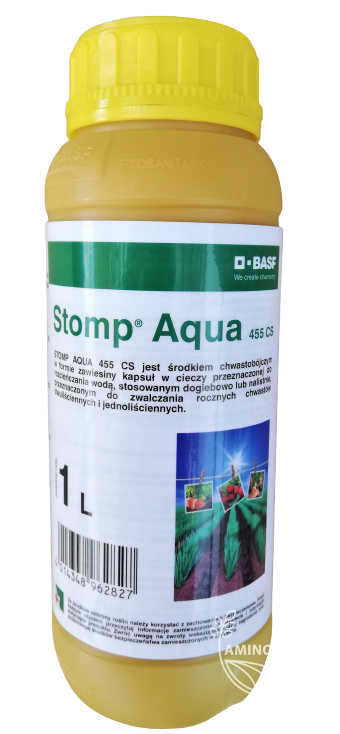 Stomp Aqua 455 CS 1L – skutecznie zwalcza chwasty w okresie ich kiełkowania i wschodów
