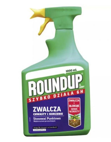 Roundup Hobby szybko działający 6H AL 1L – gotowy do użycia środek chwastobójczy do przydomowych ogrodów