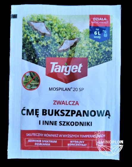 Mospilan 20 SP 2.4g – ćma bukszpanowa, mszyce i inne szkodniki warzyw, owoców i roślin ozdobnych