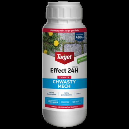Effect 24H 680 EC Target 500ml – skuteczny środek pochodzenia roślinnego na mech i chwasty w ogrodzie