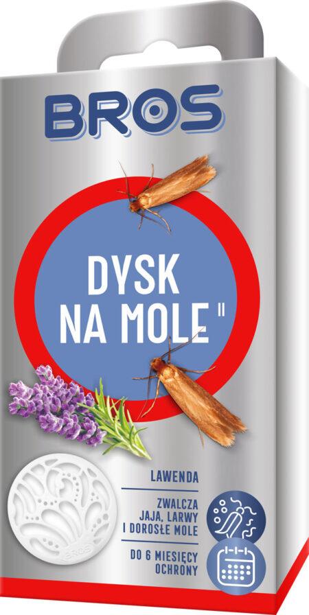 Bros Dysk na mole 1szt – skuteczny na mole odzieżowe