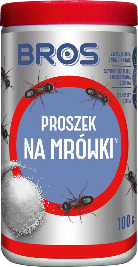 BROS Proszek na mrówki 100g – likwiduje gniazda
