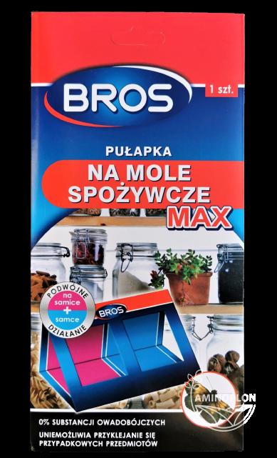 Bros Pułapka na mole spożywcze Max 1szt – podwójne działanie